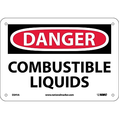 Danger, Combustible Liquids, 7