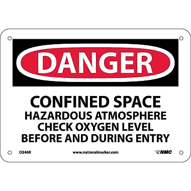 Danger, Confined Space Hazardous Atmosphere..., 7
