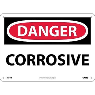 Danger, Corrosive, 10