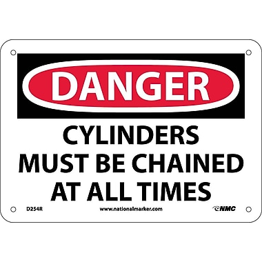 Danger, Cylinders Must Be Chained At All Times, 7