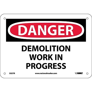 Danger, Demolition Work In Progress, 7