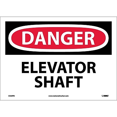 Danger, Elevator Shaft, 10