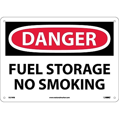 Danger, Fuel Storage No Smoking, 10