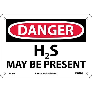 Danger, H2S May Be Present, 7