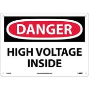 Danger, High Voltage Inside, 10X14, Fiberglass