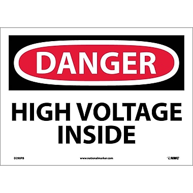Danger, High Voltage Inside, 10