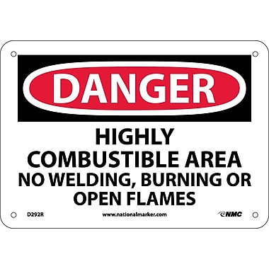Danger, Highly Combustible Area No Welding Burning..., 7