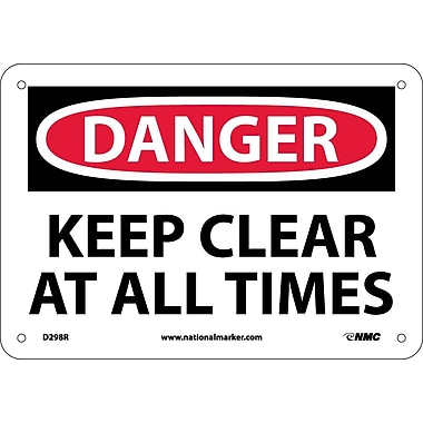 Danger, Keep Clear At All Times, 7