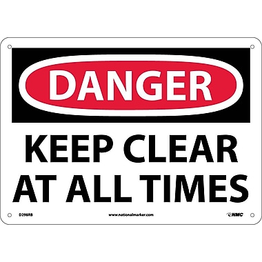 Danger, Keep Clear At All Times, 10