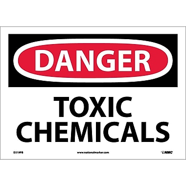 Danger, Toxic Chemicals, 10