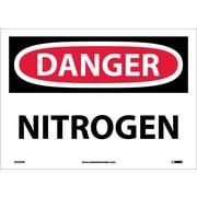 Danger, Nitrogen, 10X14, Adhesive Vinyl
