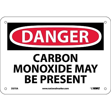 Danger, Carbon Monoxide May Be Present, 7