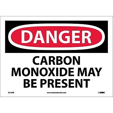 Danger, Carbon Monoxide May Be Present, 10