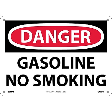 Danger, Gasoline No Smoking, 10