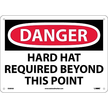 Danger, Hard Hat Required Beyond This Point, 10