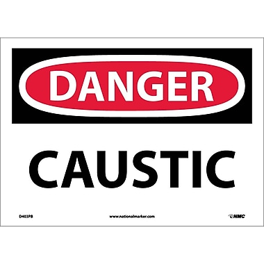 Danger, Caustic, 10