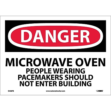 Danger, Microwave Oven People Wearing Pacemakers, 10