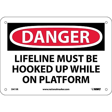 Danger, Lifeline Must Be Hooked Up While On..., 7