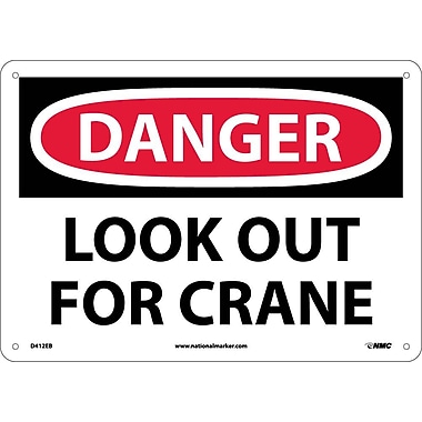 Danger, Look Out for Crane, 10