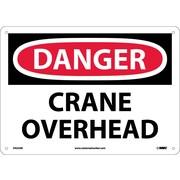 Danger, Crane Overhead, 10X14, .040 Aluminum