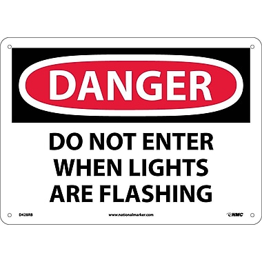 Danger, Do Not Enter When Lights Are Flash..., 10