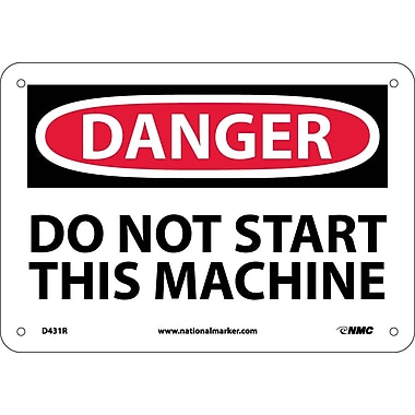 Danger, Do Not Start This Machine, 7