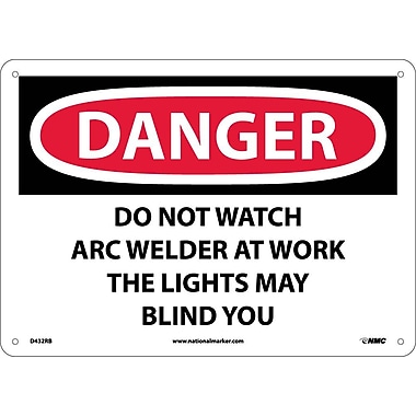 Danger, Do Not Watch Arc Welder At Work ..., 10