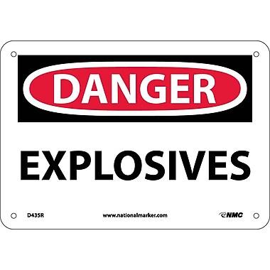 Danger, Explosives, 7