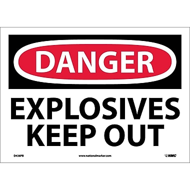 Danger, Explosives Keep Out, 10