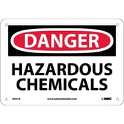 Danger, Hazardous Chemicals, 7X10, .040 Aluminum