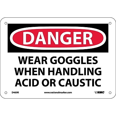 Danger, Wear Goggles When Handling Acid Or..., 7