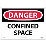 Danger, Confined Space, 10X14, .040 Aluminum