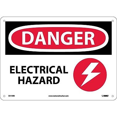 Danger, Electrical Hazard, Graphic, 10