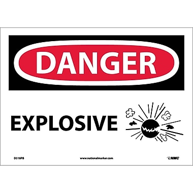 Danger, Explosive, Graphic, 10