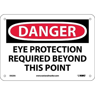 Danger, Eye Protection Required Beyond This Point, 7