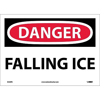 Danger, Falling Ice, 10