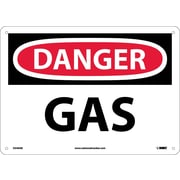 Danger, Gas, 10X14, .040 Aluminum