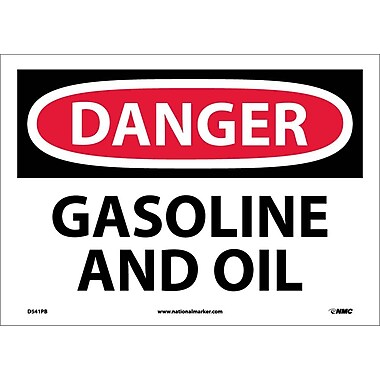 Danger, Gasoline And Oil, 10