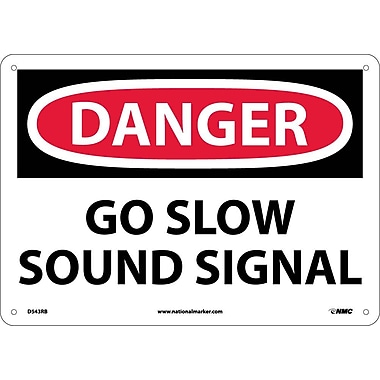 Danger, Go Slow Sound Signal, 10