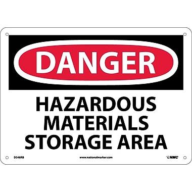 Danger, Hazardous Materials Storage Area, 10
