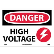 Danger, High Voltage, Graphic, 10X14, Adhesive Vinyl