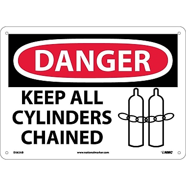 Danger, Keep All Cylinders Chained, Graphic, 10