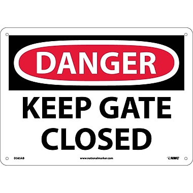 Danger, Keep Gate Closed, 10
