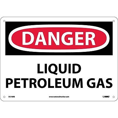 Danger, Liquid Petroleum Gas, 10X14, Rigid Plastic