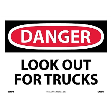 Danger, Look Out for Trucks, 10