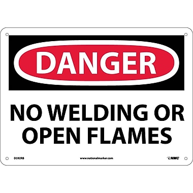 Danger, No Welding Or Open Flames, 10