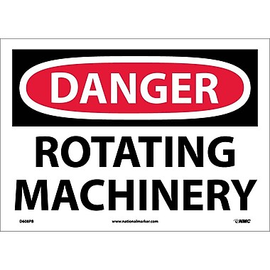 Danger, Rotating Machinery, 10