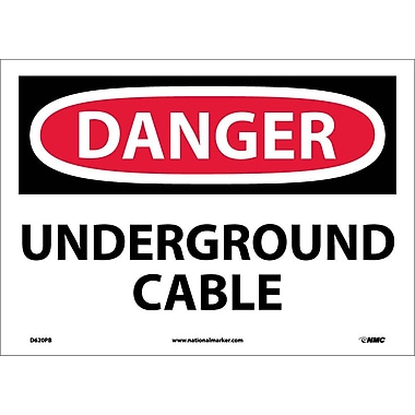 Danger, Underground Cable, 10