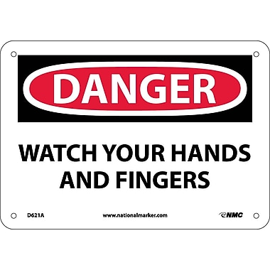 Danger, Watch Your Hands And Fingers, Graphic, 7