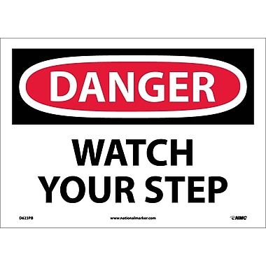 Danger, Watch Your Step, 10